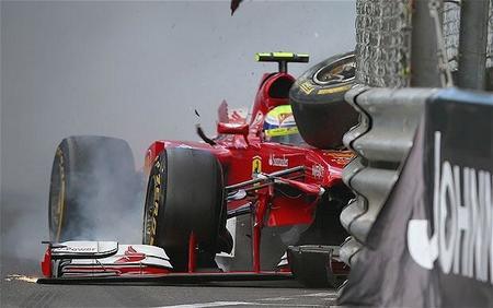 """Felipe Massa: """"aquí es poco lo que se puede hacer saliendo último"""""""