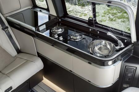 Mercedes-Benz Marco Polo cocina nevera interior