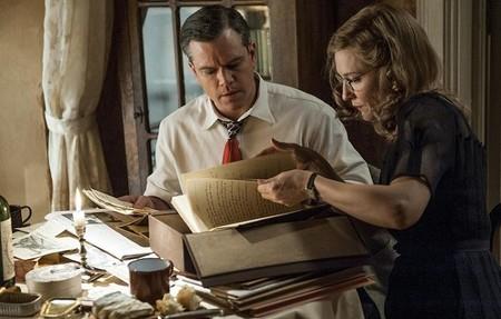 Matt Damon y Cate Blanchett en