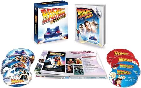 Back to the Future colección en Blu-ray de oferta en Amazon México