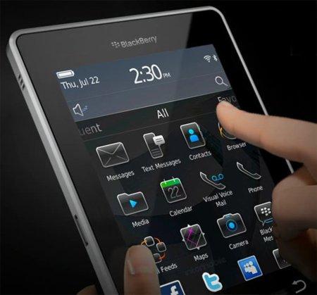 BlackBerry BlackPad en noviembre