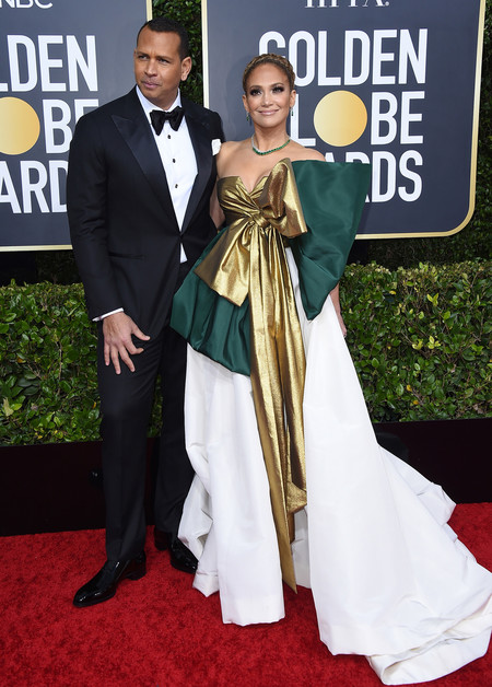 Globos De Rojo 2020 Jennifer Lopez Y Arod