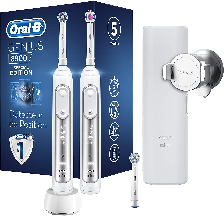 Oral-B Genius 8900 - Cepillo de dientes eléctrico, con Tecnología de Braun