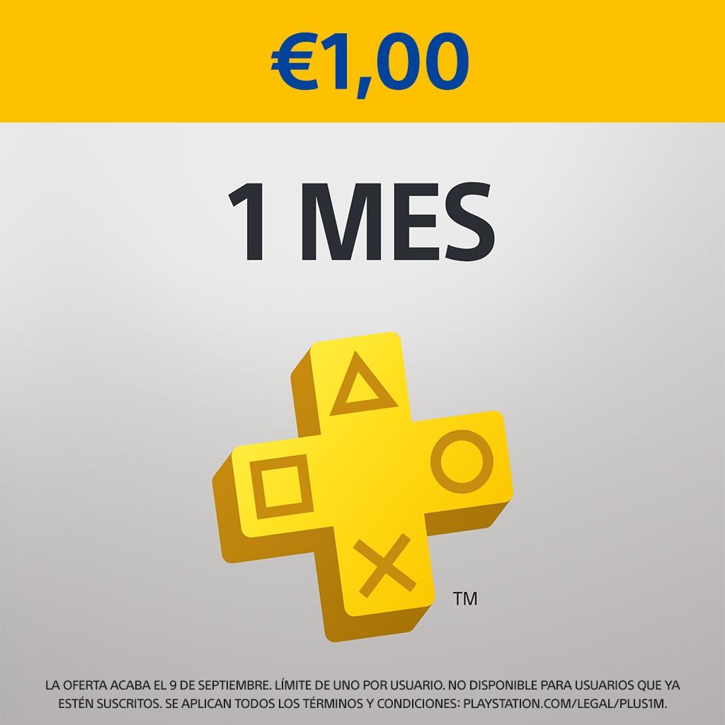 PlayStation Plus suscripción de 1 mes - €1
