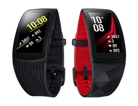 4df9d1f966f Gear Fit 2 Pro  la nueva pulsera de Samsung para monitorear actividad  física