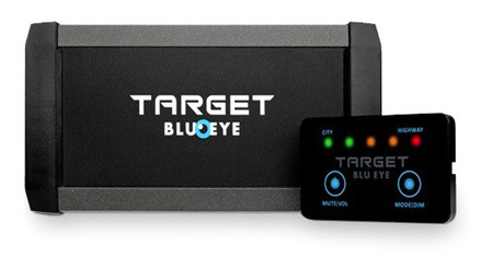 Target Blu-Eye: el detector de coches de policía