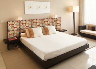 Heady bed, paneles textiles personalizables como cabeceros