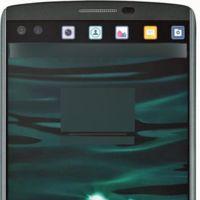 LG V10 y su doble pantalla asoman la patita con esta foto de la frontal