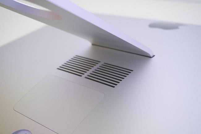 Análisis iMac 27 rejillas