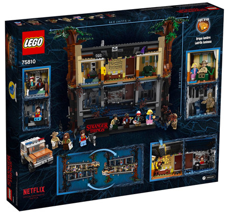 Lego Stranger Things Caja
