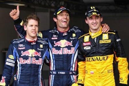 Mark Webber continúa con el monopolio de Red Bull