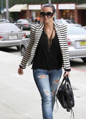 Kim Kardashian, blazer famosa