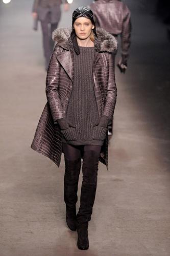 Hermès Otoño-Invierno 2009/2010 en la Semana de la Moda de París, vestidos