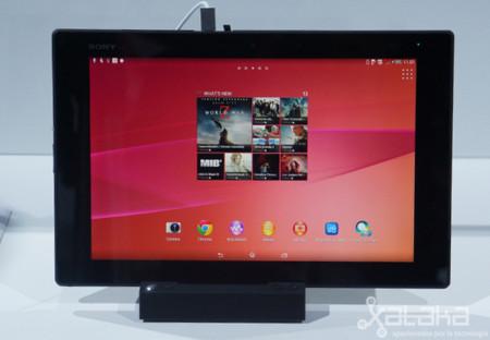 Sony Xperia Z2 Tablet, toma de contacto en vídeo