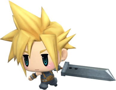World Of Final Fantasy Cloud