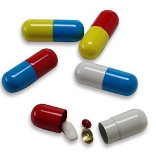 Cápsulas para las pastillas