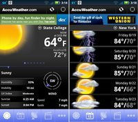Tres aplicaciones viajeras para móviles con Android