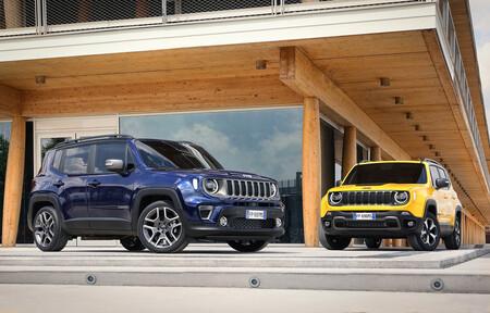Jeep Renegade SUV híbrido enchufable menos de 40.000 euros