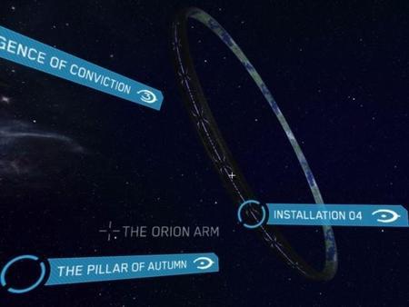 Date una vuelta por el universo Halo gracias a Halo: Starscope