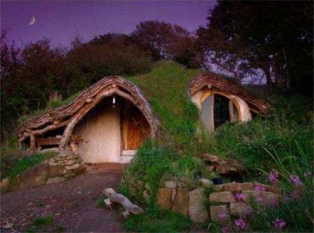 Casas poco convencionales: réplicas de casas Hobbit como en 'El Señor de los Anillos'