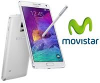 Precios Samsung Galaxy Note 4 con Movistar y comparativa con Vodafone, Orange, Yoigo y Amena