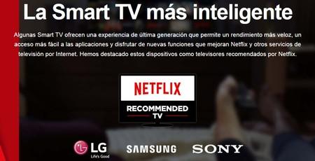 Estas son las marcas y modelos de teles que Netflix recomienda para 2017