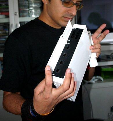 Una Wii desempaquetada