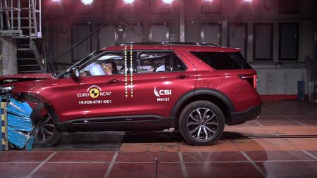 Cinco estrellas Euro NCAP para los  Mazda CX-30, Mercedes-Benz GLB y Ford Explorer PHEV, pero el Opel Corsa mantiene las cuatro