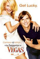 Póster de 'What Happens in Vegas' ('Algo pasa en Las Vegas'), con Cameron Díaz y Ashton Kutcher