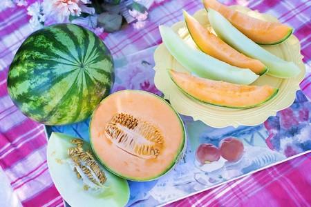 Frutas Temporada Puedes Disfrutar Septiembre Melon