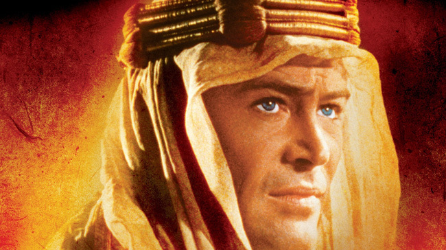 Cartel de 'Lawrence de Arabia'
