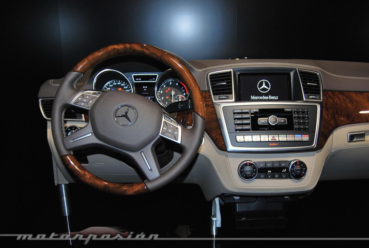 Foto de Mercedes-Benz Clase M 2012 (presentación estática) (15/38)