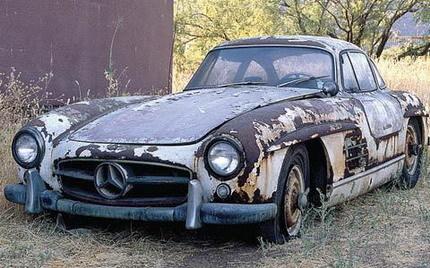 Vendo autos antiguos para restaurar muy baratos