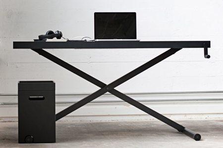 X-Table, la mesa de trabajo que se adapta a nuestra altura