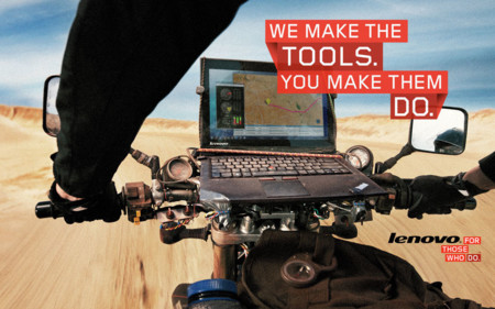Lenovo Thinkpad X1 Motorcycle Ad