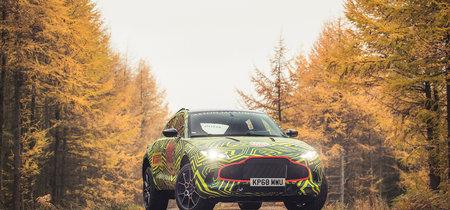 Este es el Aston Martin DBX, el primer SUV de la marca inglesa que ya está en fase de pruebas