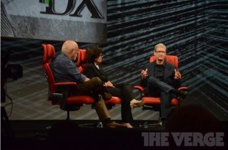 Walt Mossberg y Kara Swisher hablan con Tim Cook en el D10: la charla punto a punto