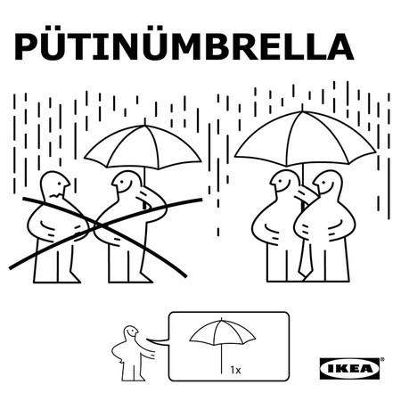 La campaña de KNALLA: el paraguas de IKEA que faltó en el Mundial de Rusia