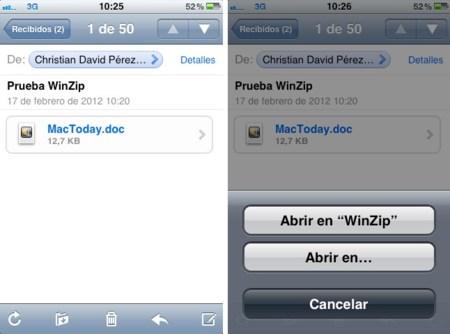 WinZip para iOS ya está aquí