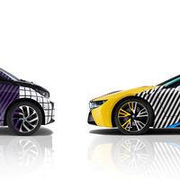 Así de coloridos quedan los BMW i3 e i8 después de pasar por las manos de Lapo Elkann