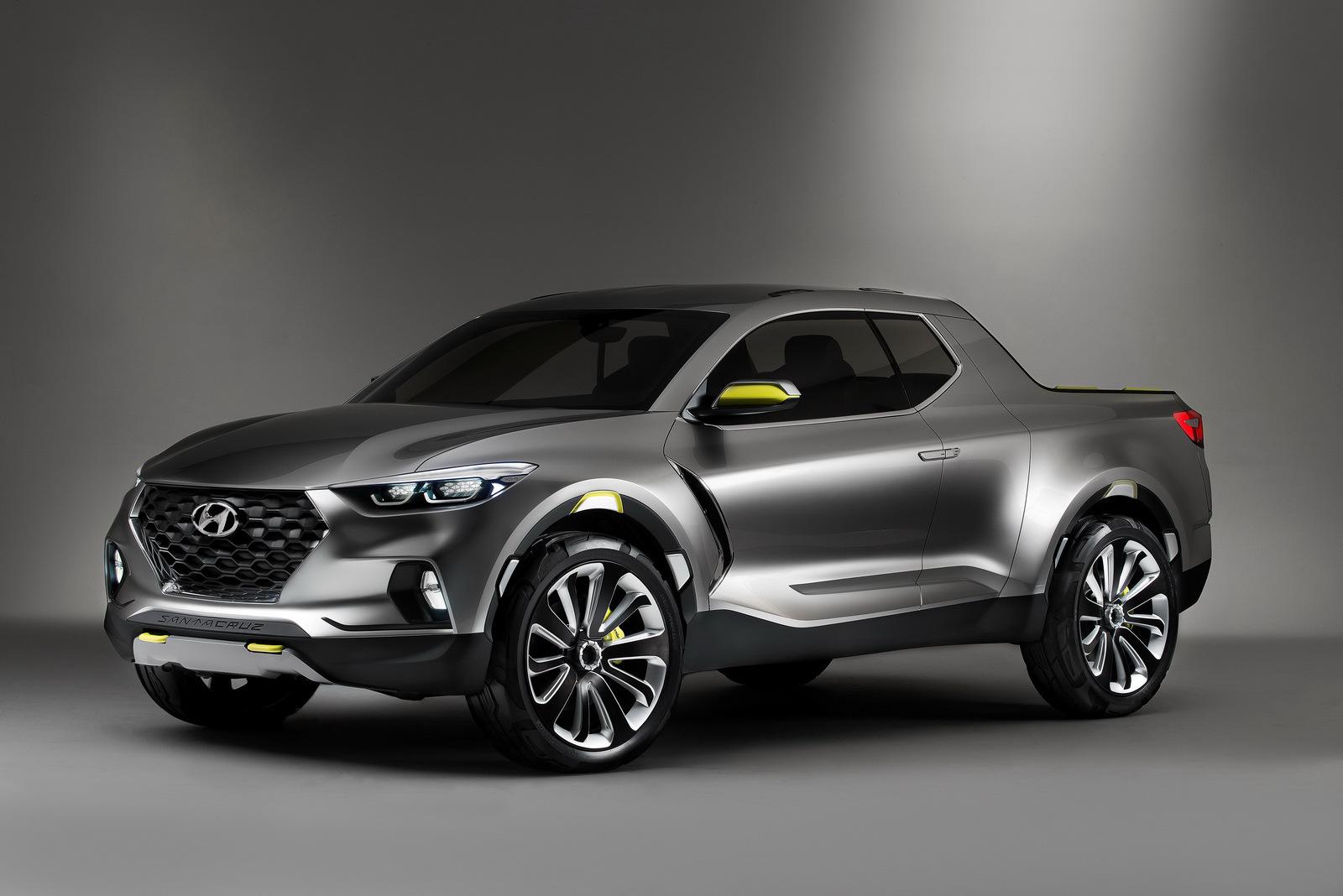 Foto de Hyundai Santa Cruz Crossover Truck Concept (1/12)
