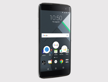 BlackBerry sigue apostándole a los smartphones con Android: así es el DTEK60
