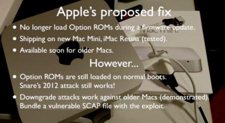 Solución de Apple a Thunderstrike
