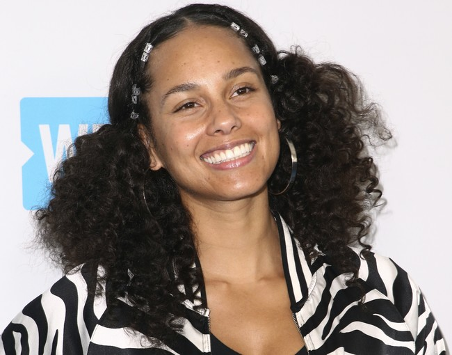 alicia keys cabello cambio de look