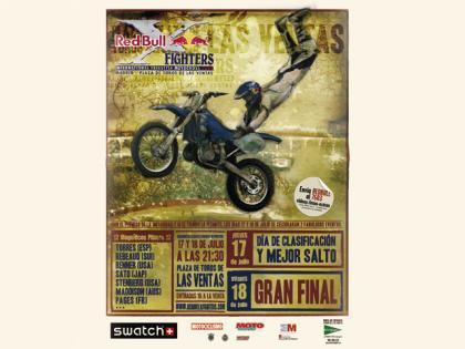 Red Bull X-Fighters de nuevo en Las Ventas