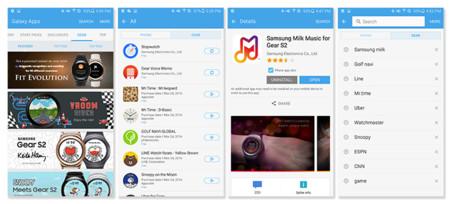 A partir de hoy, Samsung Gear Apps y Galaxy Apps se consolidan en una sola tienda