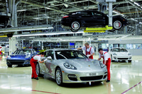 10.000 Porsche Panamera han salido ya de Leipzig