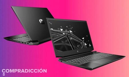 Hasta esta medianoche te puedes ahorrar más de 90 euros en este portátil gaming: HP Pavilion Gaming 15-ec1028ns por 779 euros en Amazon
