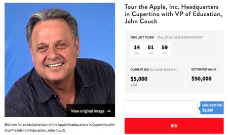 ¿Quieres dar un paseo por las oficinas centrales de Apple? Pues ve preparando 50.000 dólares