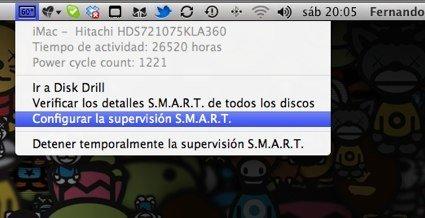 Estado SMART con Disk Drill
